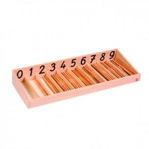 Caja de clavijas, GM0840000, material montessori, matemáticas, material escolar infantil.