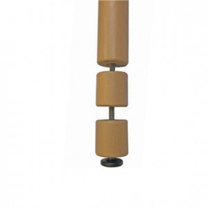 Pata de madera única ajustable en altura universal GA0240018