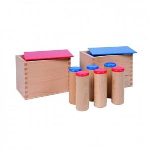 Cilindros de sonidos, GM0380000, material montessori, material sensorial, material escolar infantil.