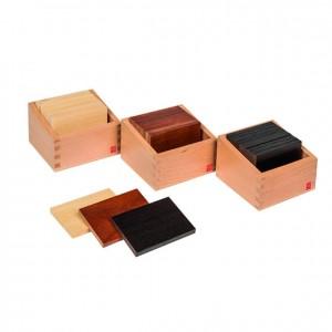 Tablillas báricas, GM0350000, material montessori, material sensorial, material escolar infantil.