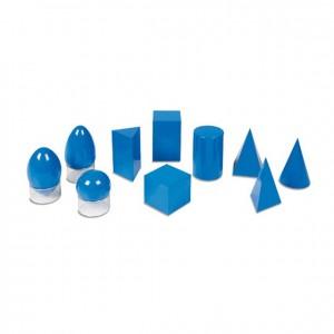 Sólidos geométricos, GM0300000, material montessori, geometría, material escolar infantil.