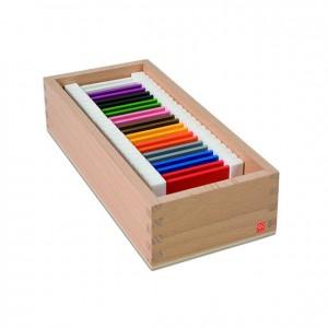 Tabletas de colores, GM0272000, material montessori, material escolar infantil.