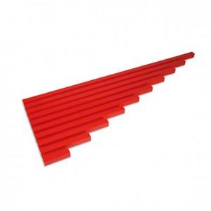 Listones rojos, GM0260000, material montessori, material sensorial, material escolar infantil.