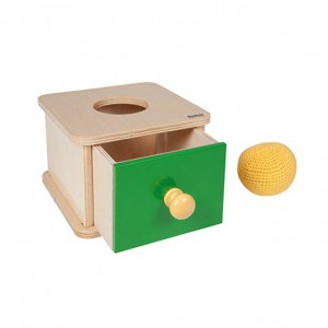 Caja de permanencia, GM262N000, material montessori, material 0-3 años, material escolar infantil.