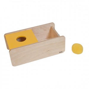 Caja de permanencia, GM261N000, material montessori, material 0-3 años, material escolar infantil.