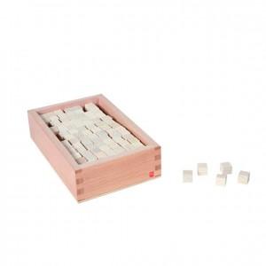 Cubos pequeños, GM0230000, material montessori, material sensorial, material escolar infantil.
