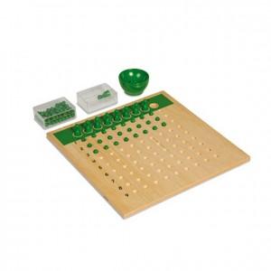 tablero de la división, GM127N000, material montessori, matemáticas, material escolar infantil.