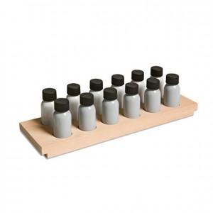 Botellas de olores, GM047N000, material montessori, material sensorial, material escolar infantil.
