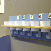 Portavasos lavabo infantil