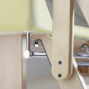 Escalera para mueble cambiador