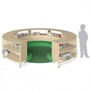 Libreria curva ATOLLI